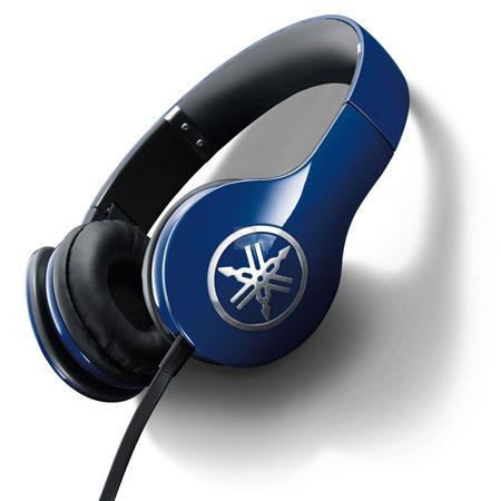 Yamaha Pro High Fidelity On Ear Headphones Blue 65 - 539