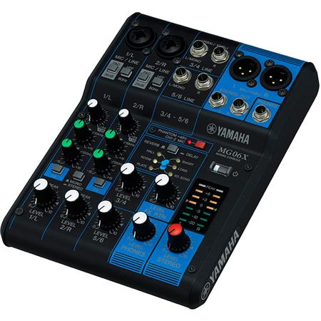 Yamaha MGX Input Mixer Built In Effects Hz kHz Frequency ResponseMicLine Combo InputsLine Inputs V P 338 - 57