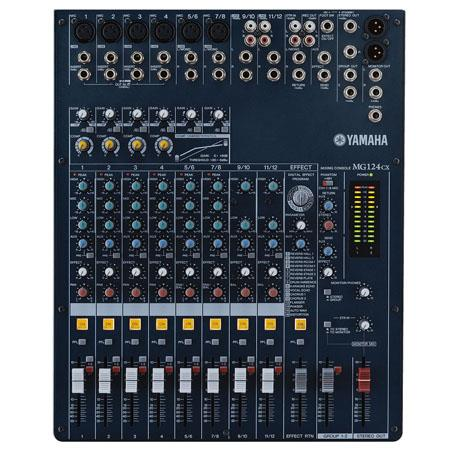 Yamaha MGCX Channel Bus Mixer MonoStereo Inputs Hz kHz Frequency Response V Phantom Power 194 - 262