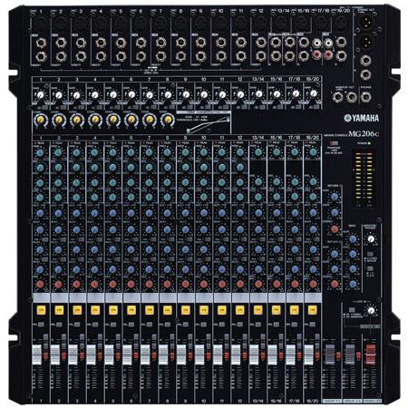 Yamaha MGC Channel Bus Rack Mountable Mixer kHz Frequency Response V Phantom Power 140 - 664