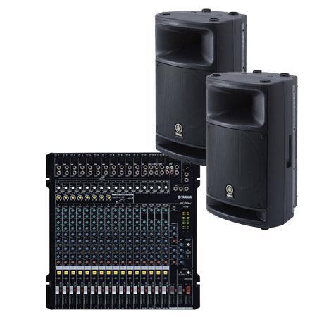 Yamaha MGCMSR Bundle Includes MGC Channel Bus Mixer MSR Way Loudspeakers 74 - 134