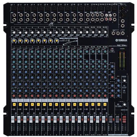 Yamaha MGC USB Channel Bus Rack Mountable Mixer USB Connection kHz Frequency Response V Phantom Powe 93 - 662