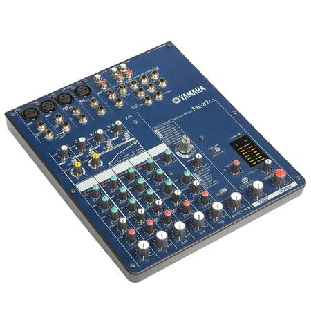 Yamaha MGCX Channel Stereo Mixer Mono Inputs and Stereo Inputs DSP Effects Engine and Compression 108 - 6