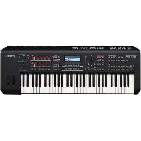 Yamaha Key Synthesizer Workstation Notes Polyphony Parts Multitimbral 88 - 302