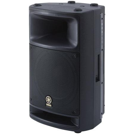 Yamaha MSR Way Watt Active PA Loudspeaker Hz kHz Frequency Response 107 - 138