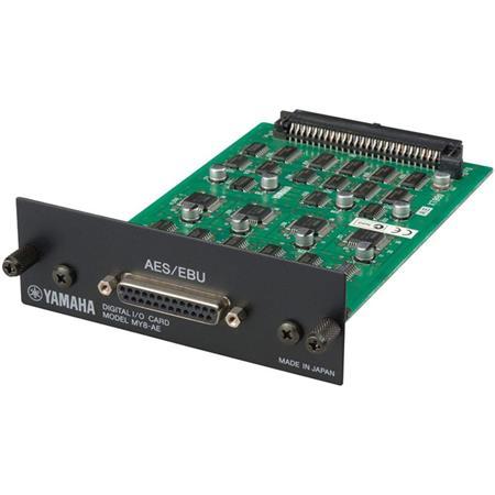 Yamaha Channel AESEBU Digital Format IO Card On Pin D Sub Connector 38 - 714