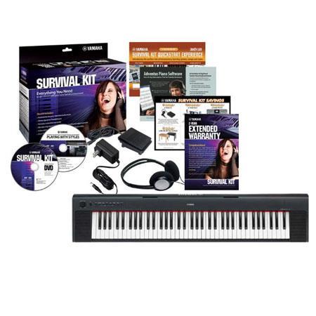 Yamaha NP Piaggero Key Piano Style Keyboard Survival Kit D 124 - 703