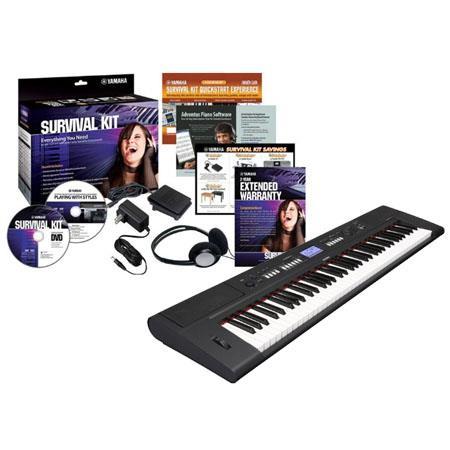 Yamaha Piaggero NP V Keys Lightweight Digital Piano Survival Kit D Preset Voices 75 - 88