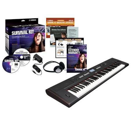 Yamaha Piaggero NP V Keys Lightweight Digital Piano Survival Kit C Preset Voices 30 - 414