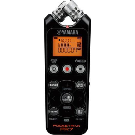 Yamaha PR Pocket Stereo Audio Recorder Built In GB Memory Overdubbing Functions 55 - 511