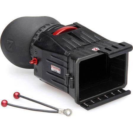 Zacuto C Z Finder Pro Optical Viewfinder Canon C LCD Lens DiameterMagnification 72 - 343