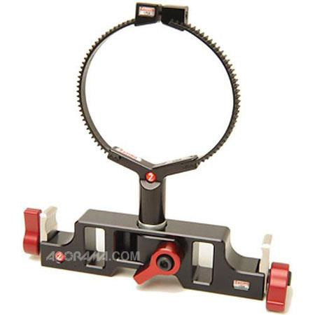 Zacutos Studio Locking Lens Support consists of q mount zupport male rod a zip gear 72 - 343