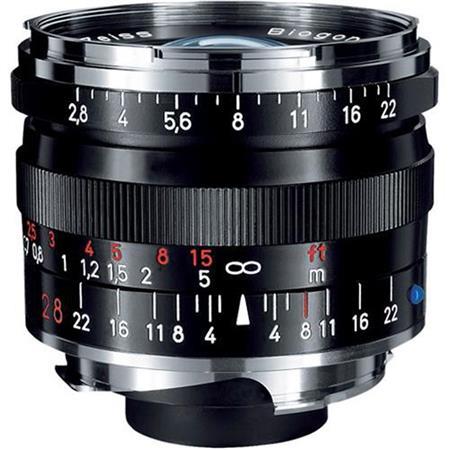 Zeiss Ikon f T ZM Biogon Lens Zeiss Ikon Leica M Mount Rangefinder Cameras  44 - 120