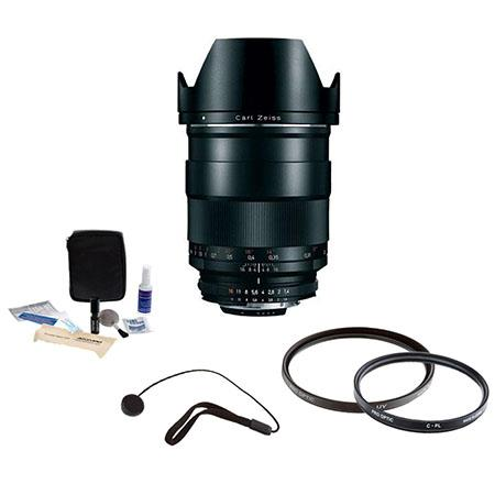 Zeiss f Distagon T ZF Manual Focus Lens Nikon F Bayonet SLR System Bundle Pro Optic Pro Digital Mult 228 - 535