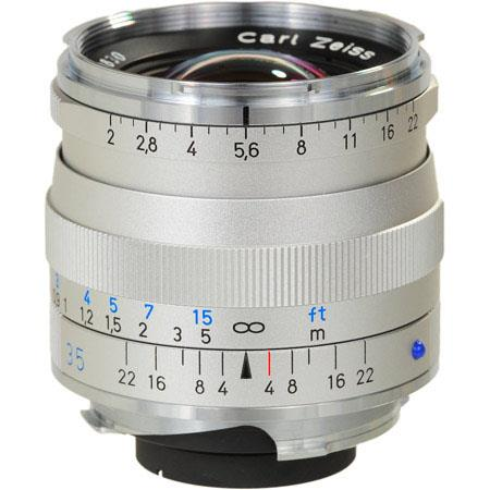 Zeiss Ikon F T ZM Biogon Lens Zeiss Ikon Leica M Mount Rangefinder Cameras Silver 44 - 120