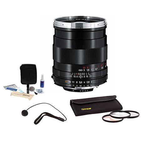 Zeiss F Distagon T ZF Series Manual Focus Lens Kit the Nikon F Bayonet SLR System Tiffen Photo Essen 151 - 21