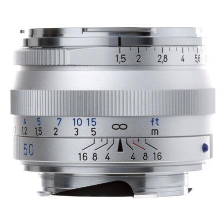 Zeiss Ikon f C Sonnar T ZM Lens Zeiss Ikon Leica M Mount Rangefinder Cameras Silver 32 - 600