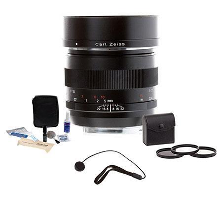 Zeiss f Makro Planar ZE Manual Focus Macro Lens Kit Canon EOS SLR Cameras Tiffen Photo Essentials Fi 143 - 516