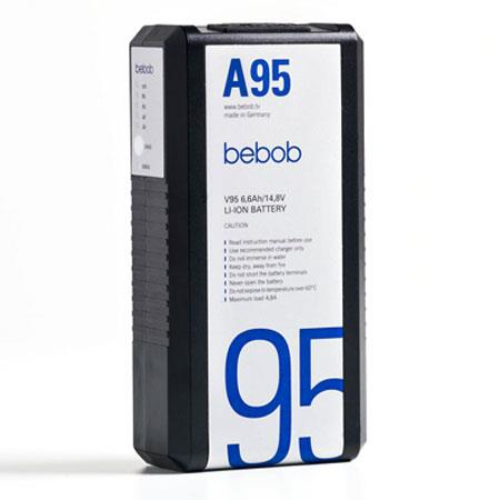 Bebob Engineering A V Lithium ion Battery Gold Mount Watts 348 - 30