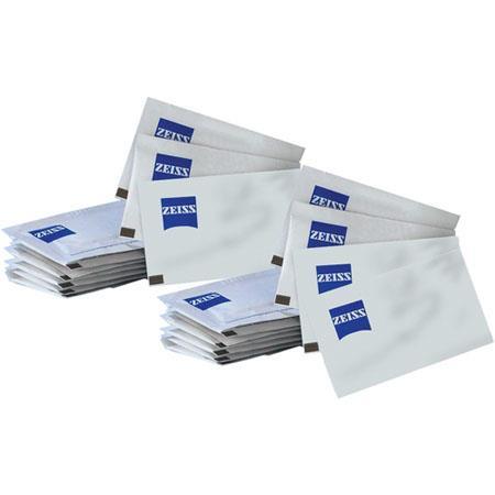 Zeiss Lens Tissues Pre moistened Optics Cleaning Cloths Carton boxes per carton 123 - 166