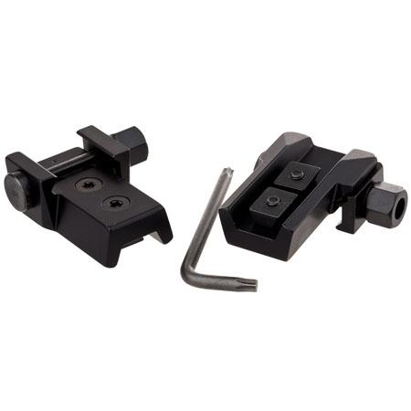 Zeiss Two Railmount Weaver HeDetach Mounts Victory Diarange Riflescope onto any Weaver Riflemount 96 - 675