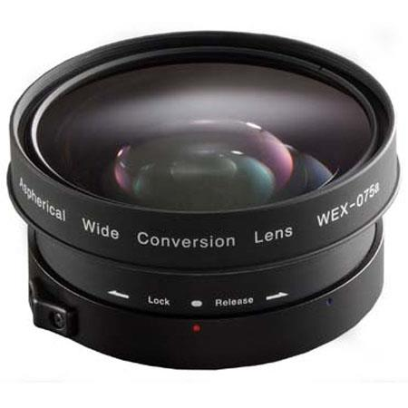 Zunow WEX A Aspherical Wide Conversion Lens and Shade Sony Bayonet Mount 117 - 337