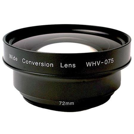 Zunow WHV Wide Angle Conversion Lens Compact HD Camcorders Mount 264 - 555