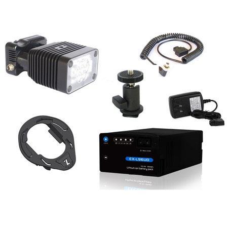 Zylight Z DV Light Kit Z LED Light Battery Charger and Mounting Accessories 80 - 463
