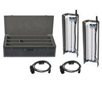Film Gear LED Flo BoBank Twin Kit Tungsten Tubes 117 - 57