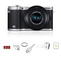 Samsung NX Mirrorless Digital Camera F ED Lens BlackSilver does not turn off 108 - 761