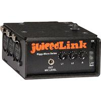 JuicedLink RM Riggy Micro XLR Low Noise Preamplifier VV Phantom Power 30 - 196