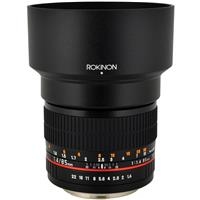 ROKINON MM F ASPH LENS FCANON Aperture is stuck wide open Focus ring is slightly stiff Cosmetic cond 100 - 584