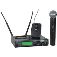 Shure ULX Professional Series Wireless Dual Mixed Microphone System FrequencyM MHz 260 - 33