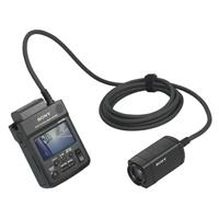 Sony HXR MC HD Point of View Camcorder LCD Screen USB Exmo CMOS Sensor i HD or SDOptical Zoom 98 - 306
