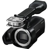 Sony NEX VG Interchangeable LensFull HD Handycam Camcorder Body E Lens Mount 50 - 625