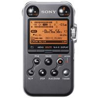 Sony PCM M Portable Linear PCM Recorder kHz bit GB Memory USB High Speed Port Matt 226 - 359