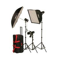 Smith Victor FLK Strobe Light Kit FLC Ws FlashLite Strobe LightSoft Box 139 - 137