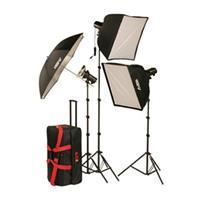 Smith Victor FLK Strobe Light Kit Two FLC Ws FlashLite Strobe LightSoft Box 341 - 299