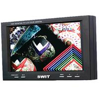 SWIT S BP High Resolution Color LCD Monitor Aspect Ratio Composite InOut S Video YUV In Panasonic CG 129 - 711