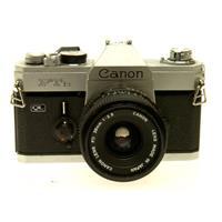Canon FTB QL Manual Focus Chrome Camera Body f Lens 213 - 147