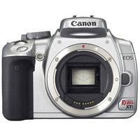 Canon Eos Digital Rebel XTI Megapixels Slr Chrome Camera Body 110 - 252