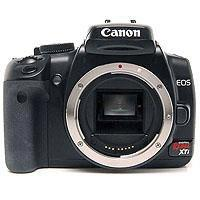 Canon Eos Digital Rebel Xti Megapixels Slr Camera Body 110 - 252