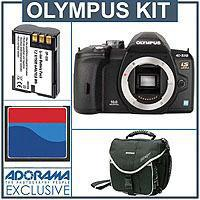 Olympus E Megapixels Digital Slr Camera Body 246 - 441