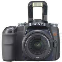 Sony Dslr A Alpha Digital Slr Camera Body W Lens 37 - 387