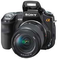 Sony Dslr A Alpha Digital Slr Camera W Lens 320 - 330