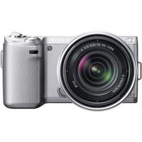 Sony Nexn Camera W Lens silvr 130 - 240