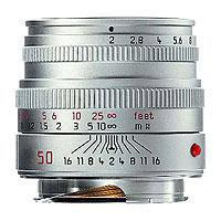 Leica F summicron M Silver  74 - 286