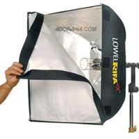 Lowel Rifa LC eX eXchange Lite VACCollapsible Soft Light System 300 - 440