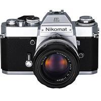 Nikkormat EL Chrome SLR Manual Focus Camera Body 118 - 140