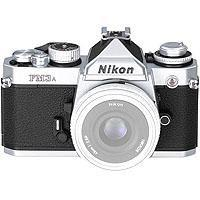 NIKON FMA BODY CHROME Self timer and Depth of Field preview levers jammed Cosmetic condition V 50 - 53